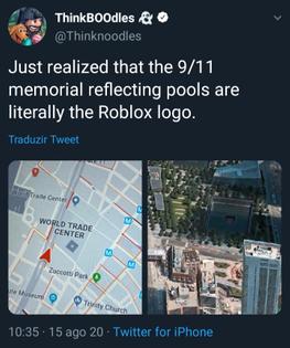 World Trade Center Memorial (Roblox Logo)