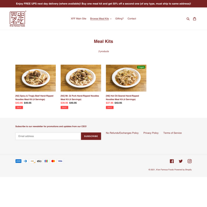 Meal Kits – Xi'an Famous Foods