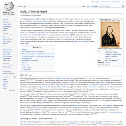 Public Universal Friend - Wikipedia