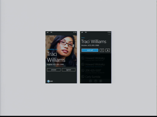 Windows Phone 7 - Incoming Call