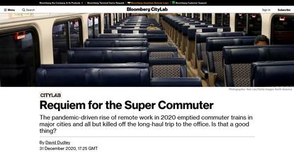 Requiem for the Super Commuter