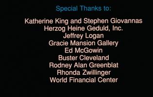 All the Vermeers in New York (1990) Jon Jost ending card