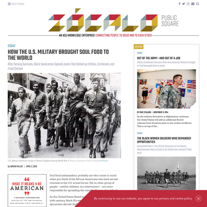 How the U.S. Military Brought Soul Food to the World | Essay | Zócalo Public Square
