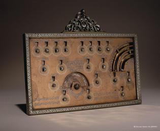 a thirteenth century syrian machine for performing islamic geomancy