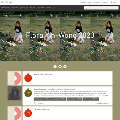 Boomkat Charts: Flora Yin-Wong 2020