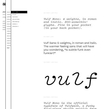 Vulf   OH no Type Company