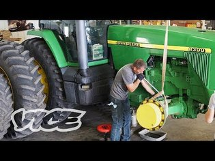 Farmers Are Hacking Their Tractors Because of a Repair Ban - YouTube
