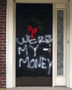 """""""Mitch McConnell's Louisville home vandalized"""""""