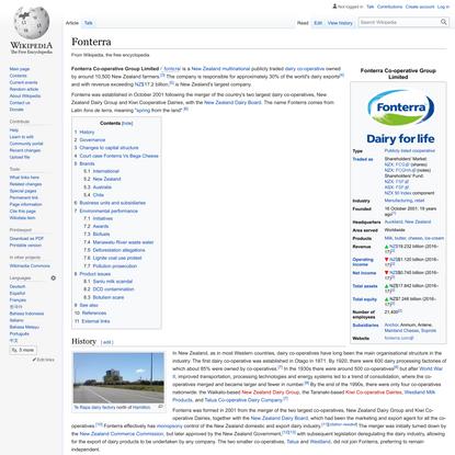 Fonterra - Wikipedia
