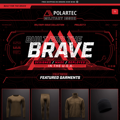 Polartec® Military Issue | Built for the Brave