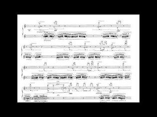 S.Sciarrino : Canzona di Ringraziamento per flauto