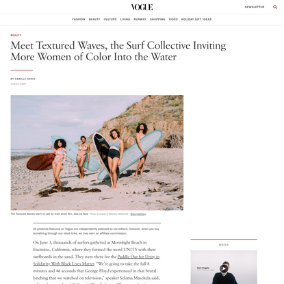 Meet Textured Waves, the Surf Collective Inviting More Women of Color Into the Water