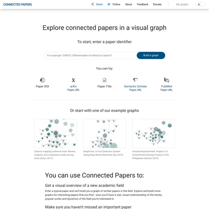Connected Papers | Find and explore academic papers