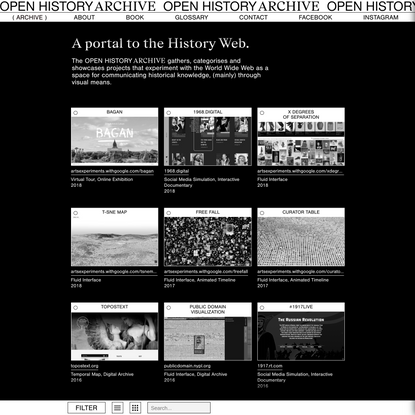 OPEN HISTORY ARCHIVE