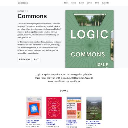 Home | Logic Magazine