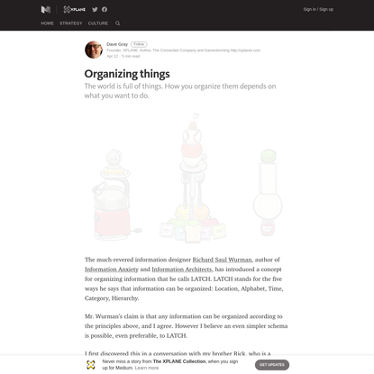 Organizing things - The XPLANE Collection - Medium