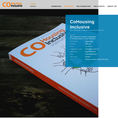 The Book – cohousing inclusive