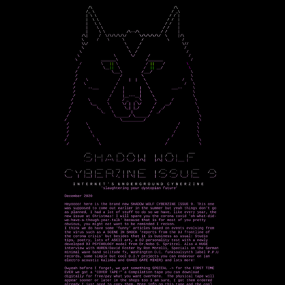 Order Of The Shadow Wolf CyBeRzInE