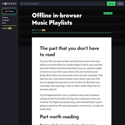 offline-in-browser-music-playlists