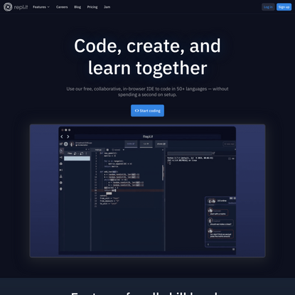 The collaborative browser based IDE
