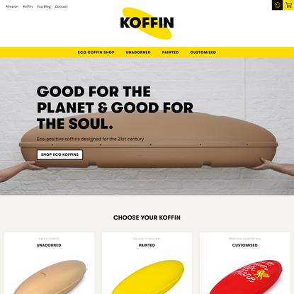 KOFFIN – Eco coffins