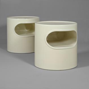giano giano vano side table off white