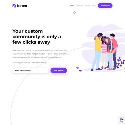 Beam.gg | Building Smarter Online Communities