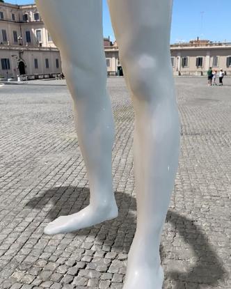 "Stuart Sandford on Instagram: ""My augmented reality #Sebastian #selfie #statue in Rome via #Snapchat. Lens code on my websit..."