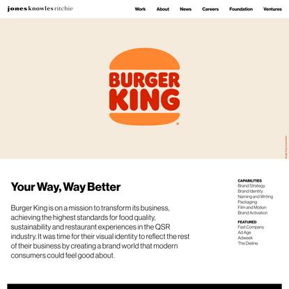 Burger King - JKRGlobal - JKRGlobal