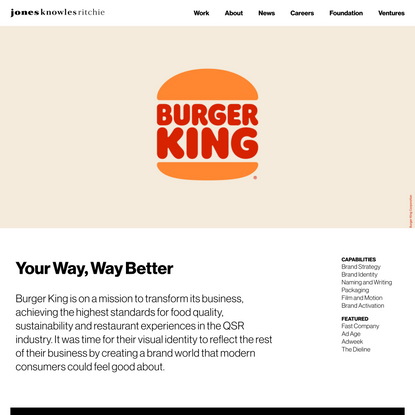 Burger King - JKRGlobal - JKRGlobal