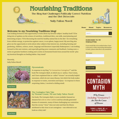 Welcome to Nourishing Traditions! - Nourishing Traditions