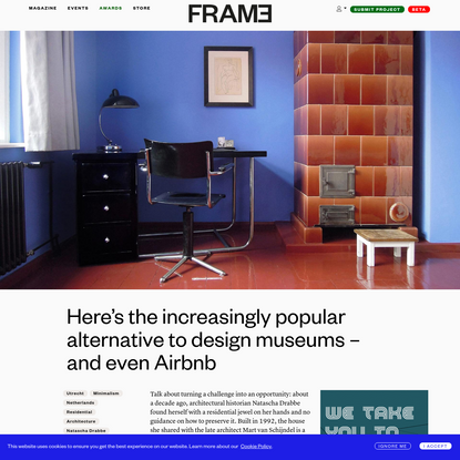 Here's the increasingly popular alternative to design museums - and even Airbnb
