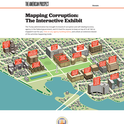 Mapping Corruption: The Interactive Exhibit
