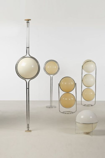 bubble lamps by jean-pierre and henri delord