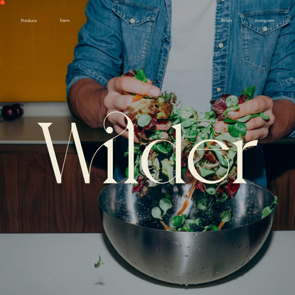 Wilder Fields - Technology-enabled Food Company