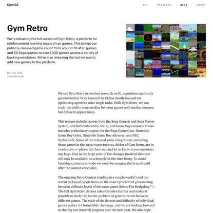 Gym Retro