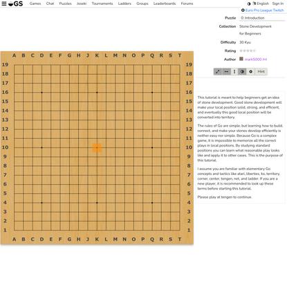 Play Go at online-go.com! | OGS