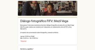 Diálogo fotográfico FIFV: Mezli Vega