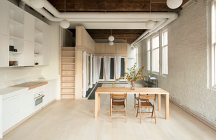 Pioneer Square Loft, Seattle (designed by Le Whit, 2018)