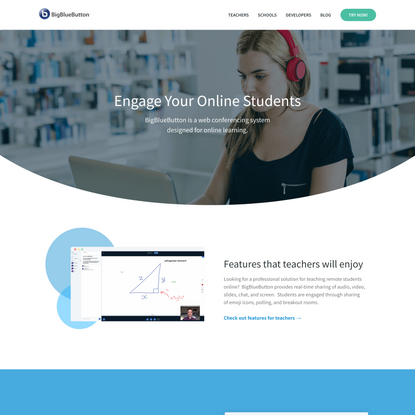 BigBlueButton - Open Source Web Conferencing