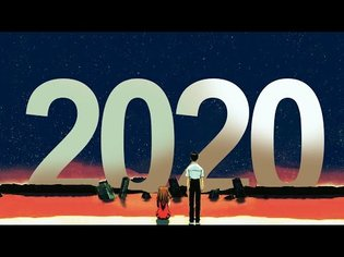 End of Evangelion but it's 2020