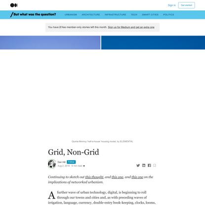 Grid, Non-Grid