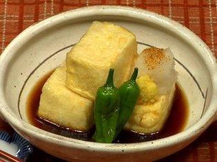 How to Make Agedashi Tofu (Deep Fried Tofu Recipe) | Cooking with Dog