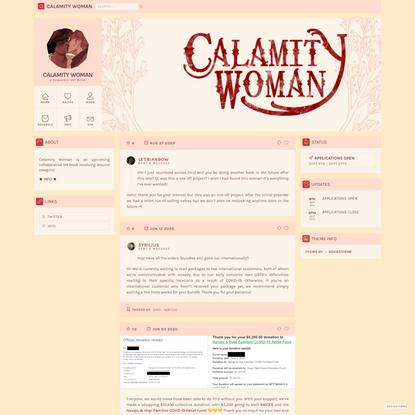 CALAMITY WOMAN
