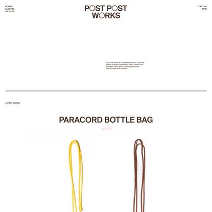 Post Post Works