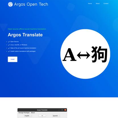 Argos Open Tech