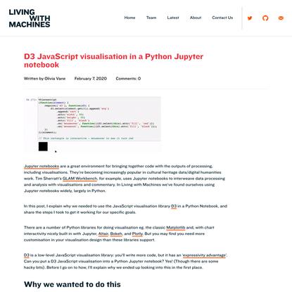 D3 JavaScript visualisation in a Python Jupyter notebook