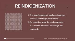 Neema Githere Reindigenization