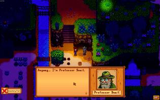 Stardew Valley, Professor Snail