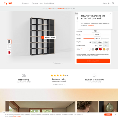 Shop the Perfect Bookcase Online - Free Delivery & Returns - Tylko.com